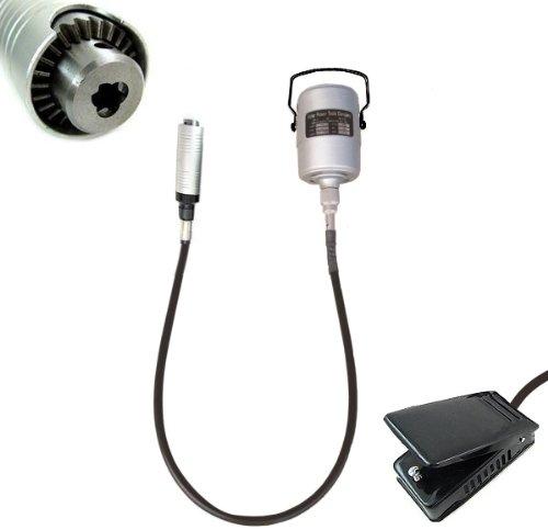 Miniutensile rotativo/Minitrapano/Multiutensile/Smerigliatrice 185W tipo Dremel con albero/sonda flessibile e motore
