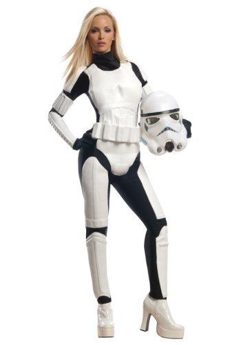 Damen Stormtrooper Star Wars Kostüm Kleid X Klein: Größe 6–8