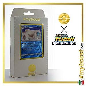 Beartic 62/214 Holo Reverse - #myboost X Sole E Luna 8 Tuoni Perduti Box de 10 Cartas Pokémon Italiano