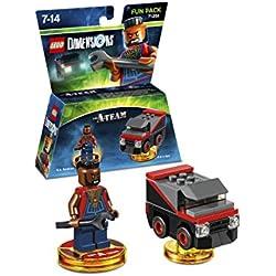 Lego LEGO Dimensions - FUN PACK THE A-TEAM MR. T Giocattolo ibrido