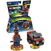 Figurine 'Lego Dimensions' - L'Agence tous risque A-Team - Pack Héros