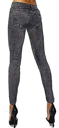 Cindio super sexy fashion stretch pantalon leggings pour femme effet jeans