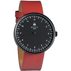 MAST MILANO BK102BK04-L-UNO - Reloj de Hombre monoaguja Ultra Slim