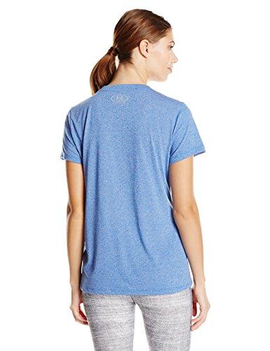 Under Armour Damen Threadborne T-Shirt Royal/Steel