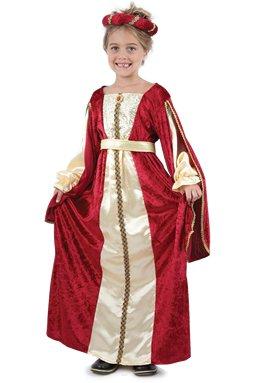 Royal Regal Princess-Tudor princesse de fantaisie pour enfants, l'âge 4-6