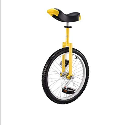 Einrad Unicycle Laufradgröße 16 18 20 Zoll,Height Adjustable Reifen Balance Radfahren Heimtrainer Fahrrad