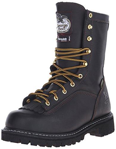 Georgia Men's G8040 Mid Calf Boot Soft-toe Logger-boot