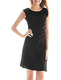 Luxspire Sexy Vestidos Camisas Largas para Mujer, Vestido Drapeado,Vestidos Plisados de Lactancia, Ropa Vestidos para Premamá,…
