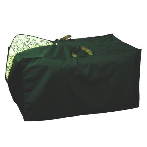 Bosmere Premium-Schutztasche für Gartenmöbelauflagen (Storage Box-grün Premium)