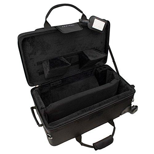 Protec PB301VAX Kombikoffer für Trompete/Zusatztasche mit Rädern