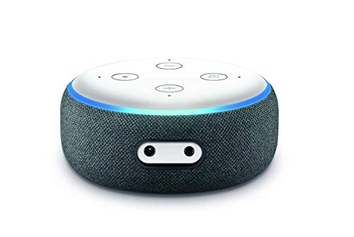Amazon Echo Dot Skin 3. Generation Alexa Vinyl Aufkleber Schutzfolie Solid State White