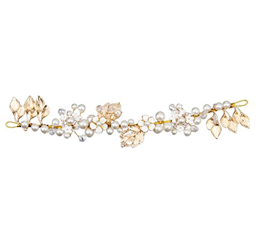 nozze-di-perle-finte-fiore-foglie-doro-strass-fascia-corona-diadema