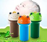 Ecovers Thickened cartoon children shower cup newborn shampoo bath cup baby spoon