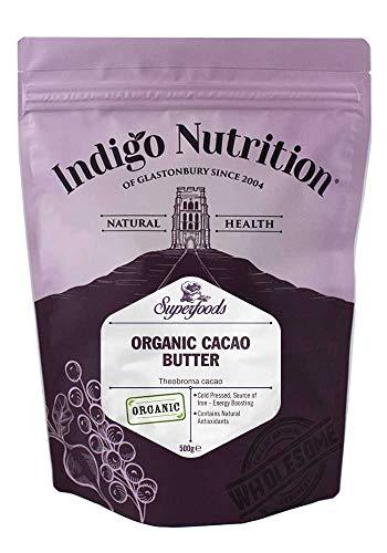 Indigo Herbs Bio Kakaobutter 500g