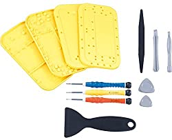 Callstel Handy Reparatur: Werkzeug-Set kompatibel mit iPhone-Reparatur, 13-teilig (Handy Reparatur Profi Werkzeug Set)