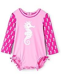 Hatley Baby Girls Mini Rashguard Swimsuit