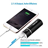 Poweradd Slim 2 Externer Akku 5000mAh Power Bank Handy Ladegerät für Smartphones, MP3 usw. - 3