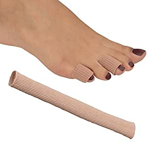 Medipaq® GEL Tube Toe/Finger Bandage - Pain Relief From Blisters, Corns, Calluses and other Ailments Causing Sore Fingers and Toes