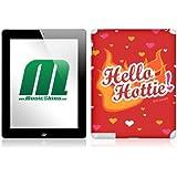 MusicSkins Sticker Sexy Slang - Hello Hottie! pour iPad 2 (import Royaume Uni)