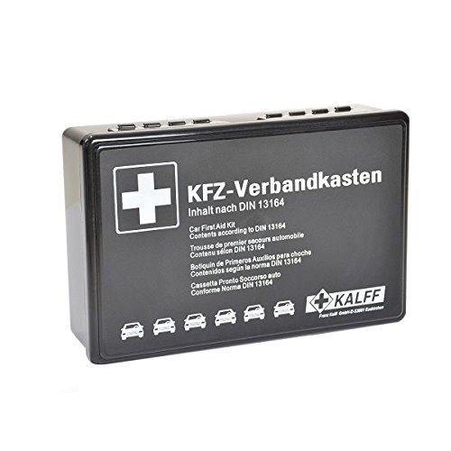 Preisvergleich Produktbild KALFF 1734 Verbandkasten Din 13164, Schwarz