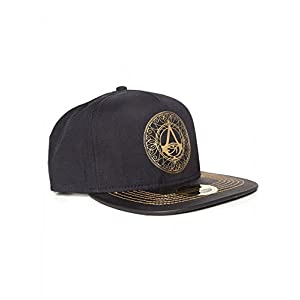 Bioworld Assassins Creed Origins – Goldenes Logo – Snapback Mütze