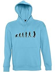 EVOLUTION - Golf Sport - Kapuzen Sweatshirt - Pullover S-XXL