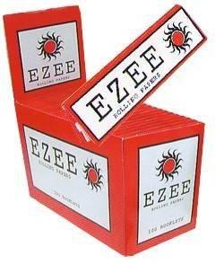 Ezee - cartine per rollare, formato standard, confezione rossa, da 100pezzi (3432KARLH)