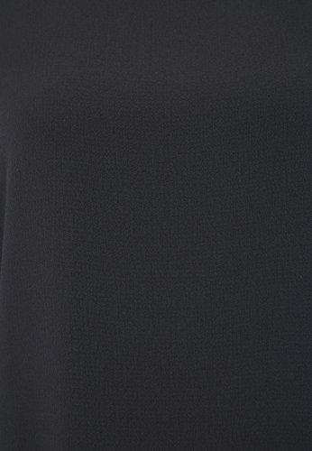Tunikahemd lang Schwarz