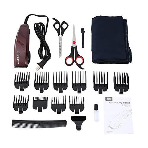 Pudincoco Professional Hair Clipper Electric Hair Trimmer Portable Hair  Cutting Machine Universal Barber Kit de herramientas 85686176695c