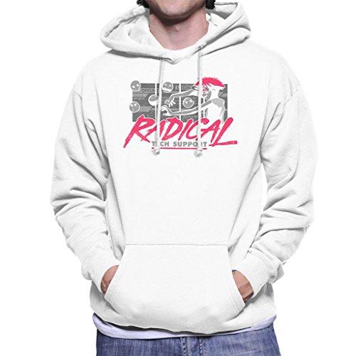 Cowboy Bepop Edward Radical Tech Support Men's Hooded Sweatshirt Mens Tech Support