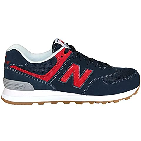New Balance - Nbml574Wdh - , homme, bleu (blue/red), taille