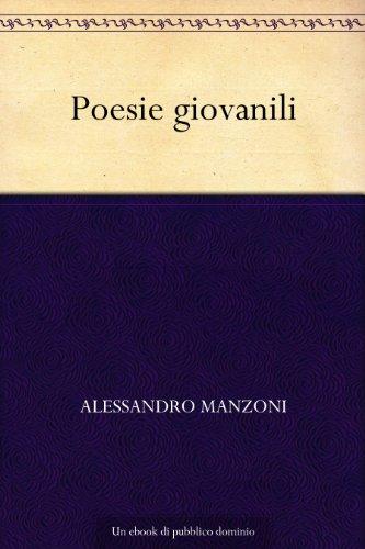 Poesie giovanili (Italian Edition)