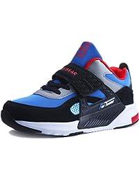 watch c70b5 8f253 Sneakers Enfant Baskets Montantes Garcon Chaussure de Course Mode Garcon  Fille Sport Running Shoes Competition Entrainement