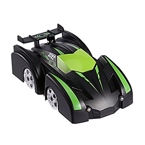 RC Car,4CH Remote Control Wall Floor Climber Climbing RC Toy Car Racer Vehicle for Kids (JJRC Q6)