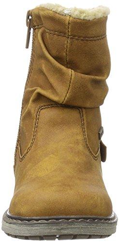 Supremo 1630703, Bottes courtes avec doublure chaude fille Braun (camel)