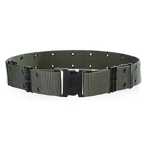 Malloom® niña mujer caramelo color flaco PU Cuero Cinturones Cinturón (Negro)