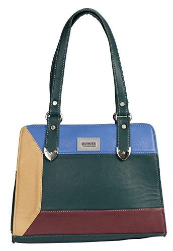 Big Handbag Shop, Borsa a mano donna Taglia unica Teal