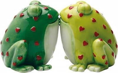 Salz und Pfefferstreuer Horny Toads Froschkönig Frosch Figur von ... auf Du und dein Garten