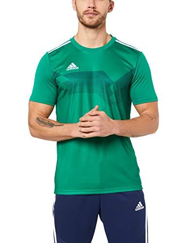 Adidas Campeon19 JSY Camiseta, Campeon 19, Verde Bold Green/White, S