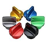ZHENWOFC Bouchon de remplissage d'huile en aluminium CNC pour Honda/Ducati/Yamaha/Kawasaki/Ninja/Triumph Accessoires pour outils de bricolage