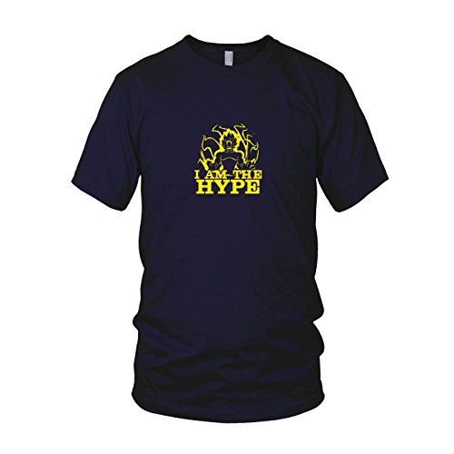DBZ: I am The Hype - Herren T-Shirt, Größe: XL, - Saiyajin Kostüm Xenoverse