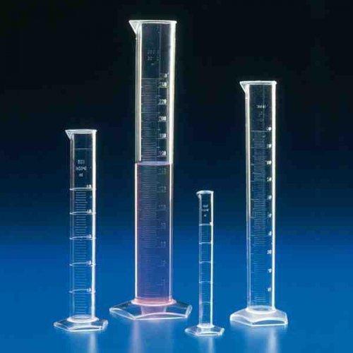 Messzylinder graduiert, hohe Form 10 ml Messzylinder Messbecher Messgerät Laborbedarf Labor