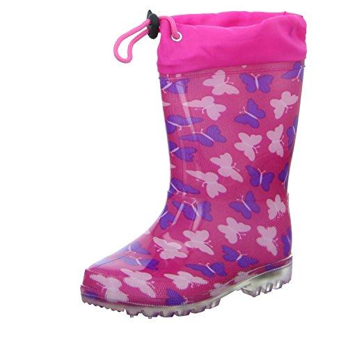 Sneakers RC6-131 Mädchen Regenstiefel Rot (Pink)