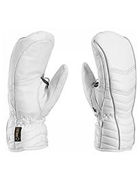 Leki cortina S GTX–Color Blanco–Manoplas de esquí para mujer (tejido Goretex S, 7