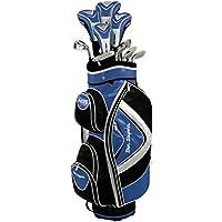 Ben Sayers Men's M15 Right Hand Regular Cart Bag - Graphite Blue/Black