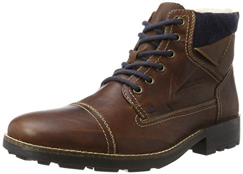 Rieker Herren 36040 Klassische Stiefel, Braun (Marron/Sherry/Navy/Mogano 26), 47 EU