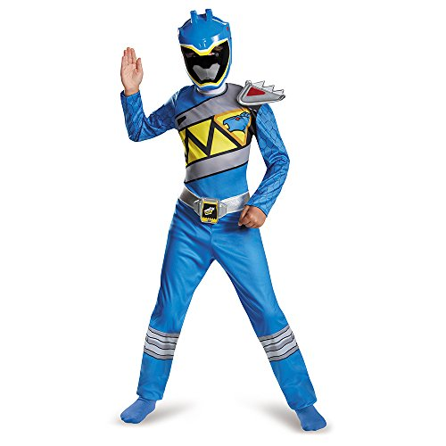 Disguise Blue Ranger Dino Charge Classic Costume,