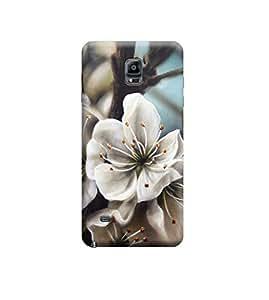 Ebby Premium Printed 3D Designer Back Case Cover For Samsung Note 4 (Premium Designer Cae)