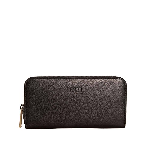 BREE, Zipped Long Purse, Sofia 111 black Black (Schwarz)