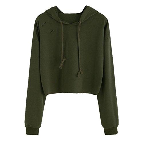 Uomogo donna felpe magliette maglie camicetta t-shirt manica lunga crop top o-neck